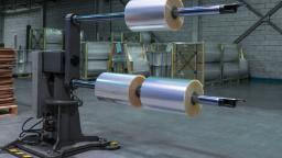 Roll handling solutions for flexible packaging